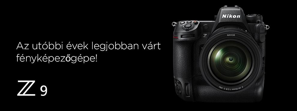 A Nikon eddigi legprofibb gépe lesz a Nikon Z9! Tudj meg mindent!
