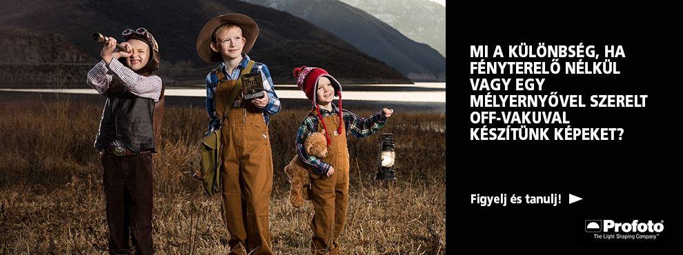 Profoto oktató videók, hogy egyre jobb és jobb fotós legyél!