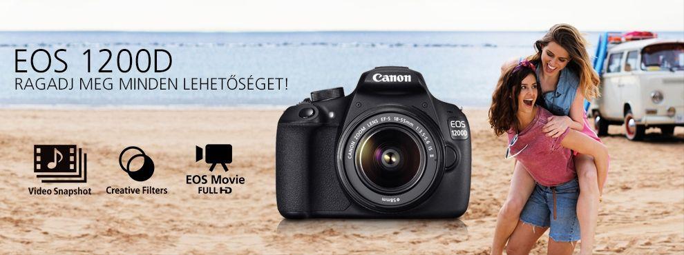 Canon EOS 1200D - Ragadj meg minden lehetőséget!