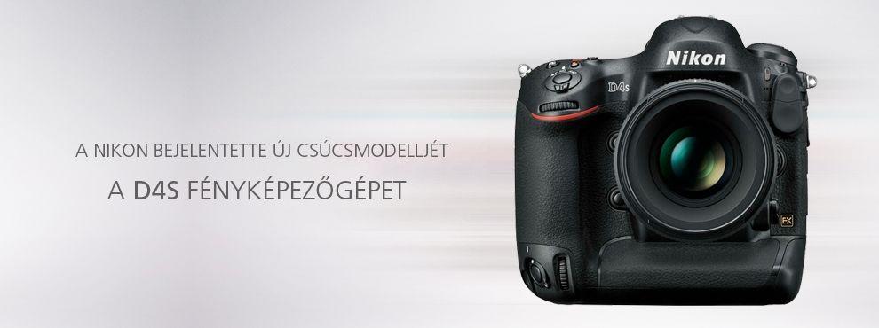 A Nikon bejelentette új csúcsmodelljét, a D4s fényképezőgépet.