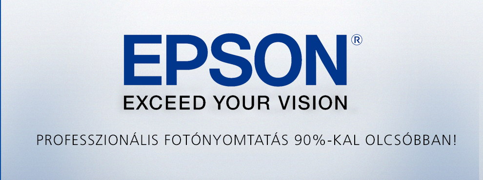 Professzionális fotónyomtatás  90%-kal olcsóbban!