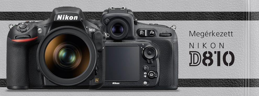 Nikon D810 – a legújabb remekmű