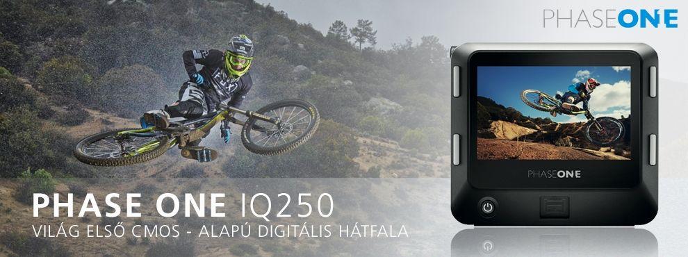 A Phase One bejelentette a világ első CMOS-alapú digitális hátfalát, az IQ250-est