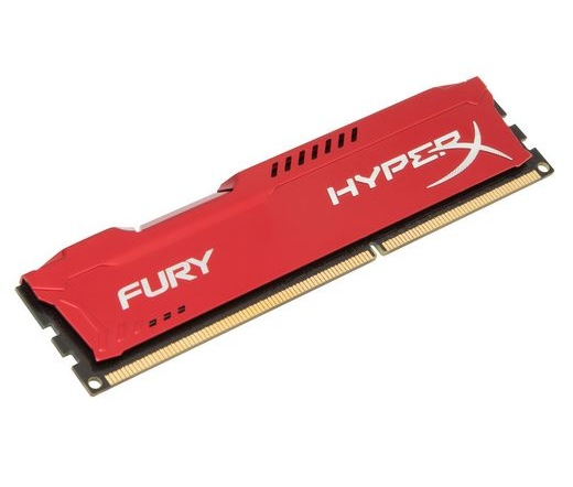 Kingston HyperX Fury 1333MHz 8GB CL9 piros