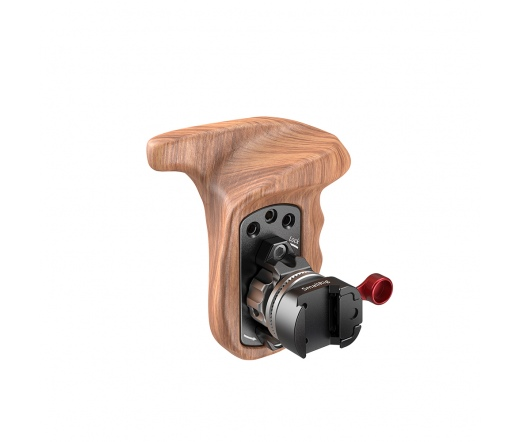 SMALLRIG Left Side Wooden Grip with NATO Mount 211