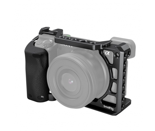 SMALLRIG Cage with Silicone Handle for Sony A6100/