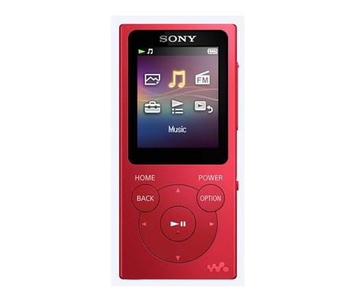 Sony NW-E393 piros