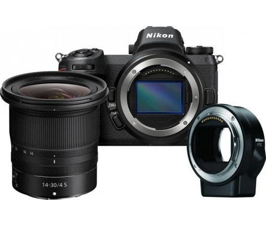 Nikon Z6 + 14-30 f/4 + FTZ adapter kit