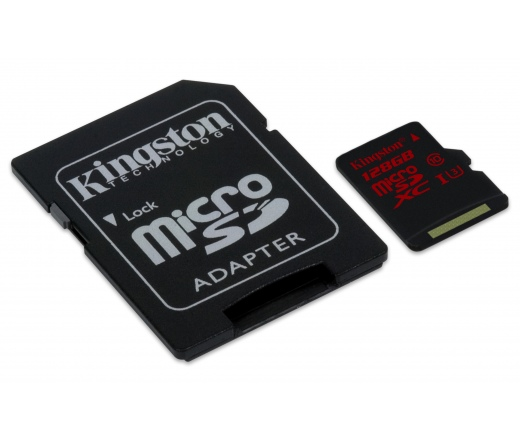 Kingston Canvas Micro SD 128GB UHS-I CL10