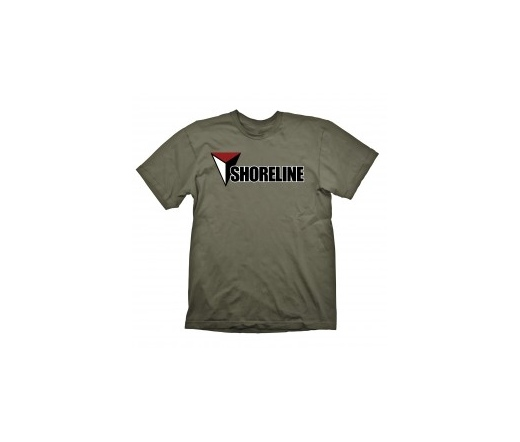 """Uncharted 4 T-Shirt """"Shoreline (Army)"""", XXL"""