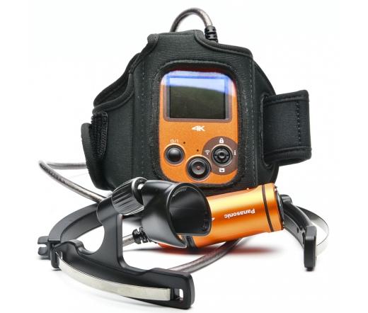 Használt Panasonic HX-A500 akciókamera + Karpánt,