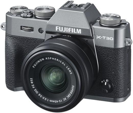 Fujifilm X-T30 XC15-45mm kit szénszürke