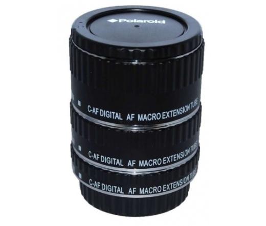 POLAROID makró-közgyűrűsor fém bajonett, Canon EOS