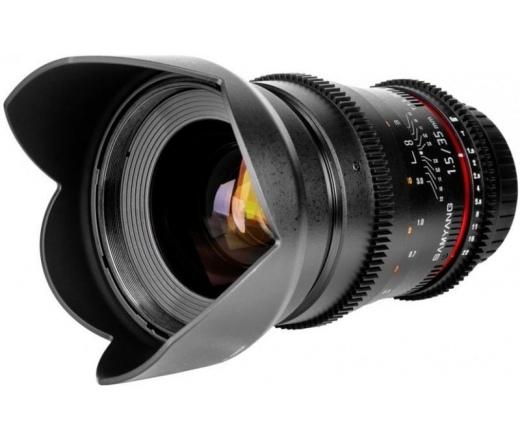 SAMYANG 35mm T1.5 VDSLR AS UMC II (Canon)