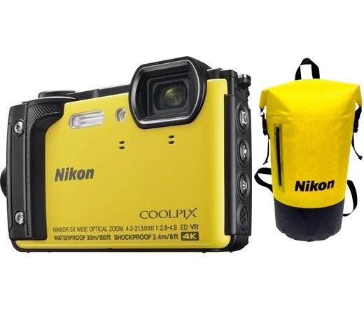 Nikon COOLPIX W300 Holiday Kit sárga