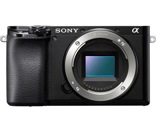 Sony α6100 fekete váz