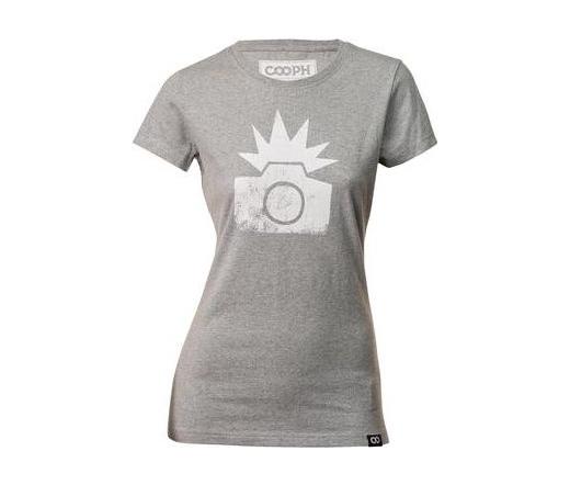 Cooph női póló Flash hangaszürke S