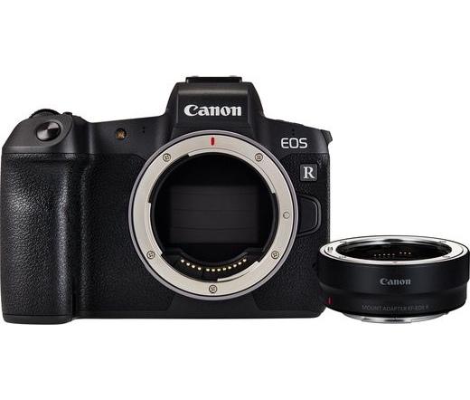 Canon EOS R váz + EF-EOS R adapter kit