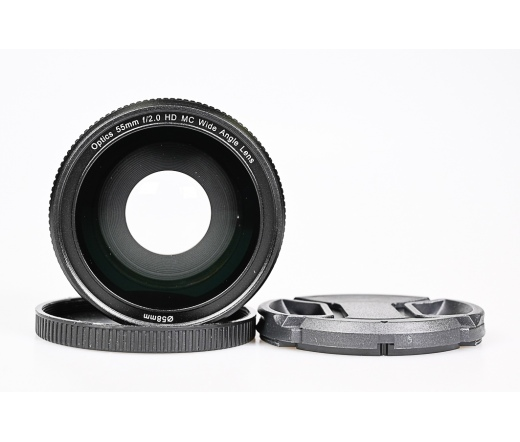 Használt Optics 55mm f/2.0 HD MC Wide angle+Macro