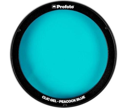 Profoto Clic Gel - pávakék