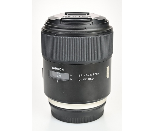 HASZNÁLT Tamron SP 45mm f/1.8 Di VC USD (CANON)