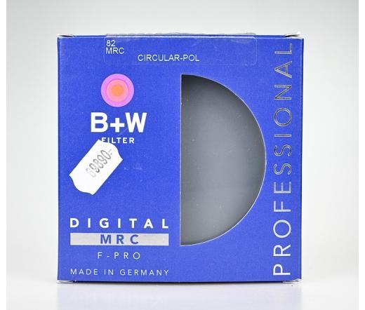 Használt B+W 82mm Circ.Polar MRC F-PRO szűrő