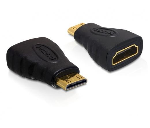 Delock Adapter High Speed HDMI C male -> A female