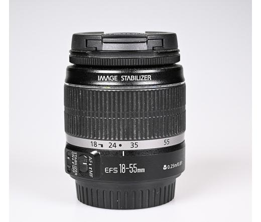 Használt Canon EF-S 18-55mm f/3.5-5.6 IS sn:454255
