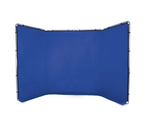Lastolite panoramikus háttér 4mchroma key kék LL