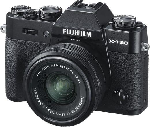 Fujifilm X-T30 XC15-45mm kit fekete