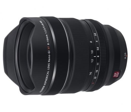 Fujifilm XF8-16mm F/2.8 R LM WR Fekete objektív