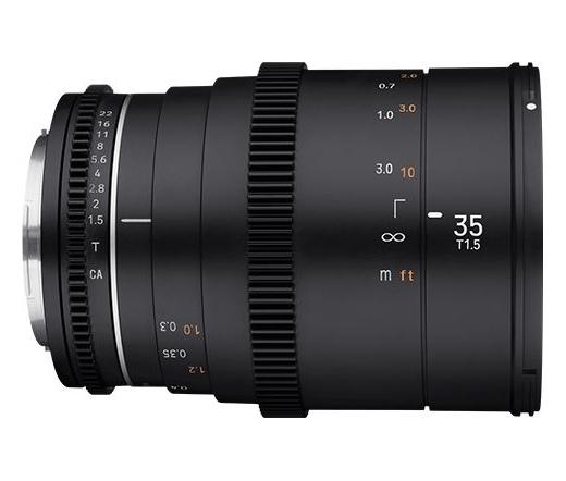 Samyang 35mm T1.5 VDSLR MK2 (Canon M)