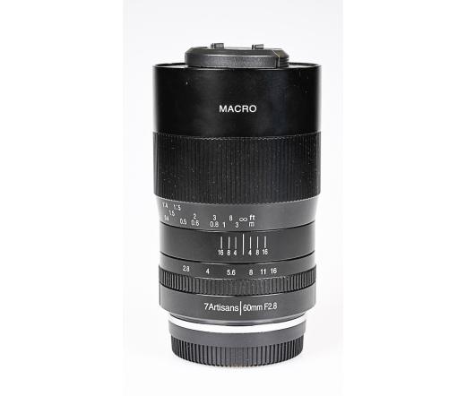 Használt 7Artisans 60mm f/2.8 Macro Nikon F sn:660