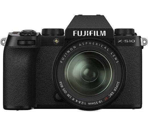 Fujifilm X-S10 XF18-55mm f/2.8-4 R fekete kit