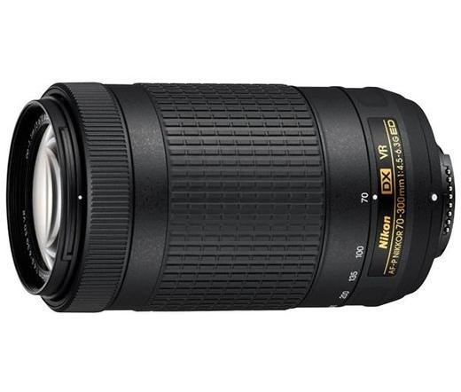Nikon AF-P DX NIKKOR 70–300 mm f/4.5-6.3G ED VR