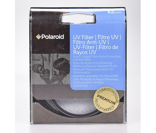 Használt Polaroid 62mm UV szűrő