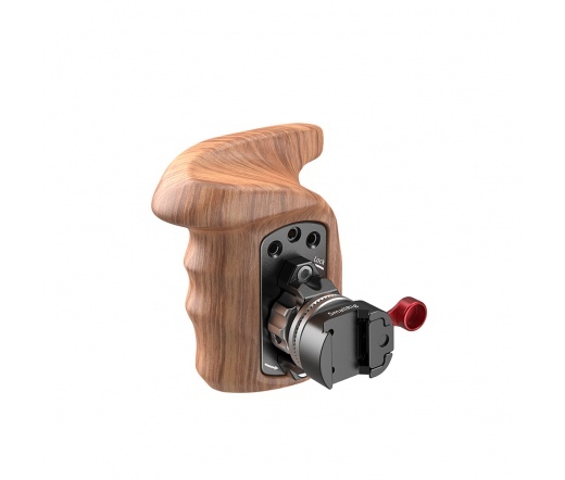 SMALLRIG Right Side Wooden Grip with NATO Mount 21