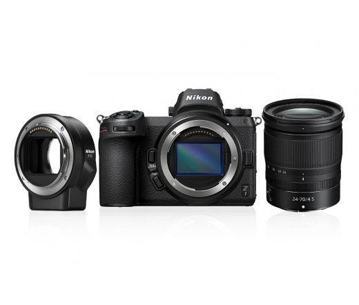 Nikon Z7 + 24-70 f/4 + FTZ Adapter kit