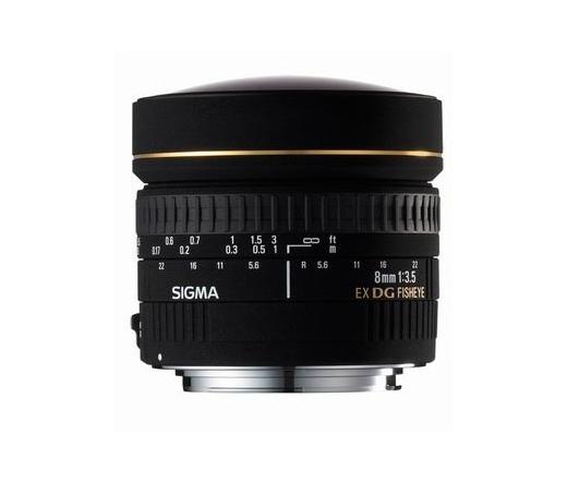 SIGMA AF 8mm f/3.5 EX DG CIRCULAR FISHEYE (CANON)
