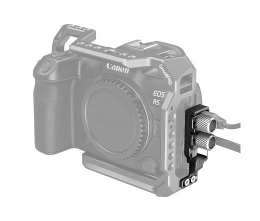 SMALLRIG HDMI and USB-C Cable Clamp for EOS R5 and