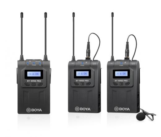 Boya BY-WM8 Pro UHF vezeték nélk. kit 2 jeladóval