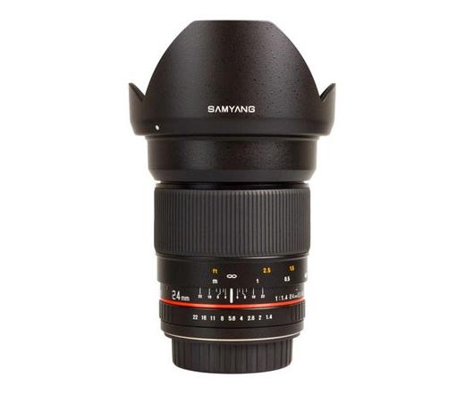 Samyang 24mm F1.4 ED AS IF UMC (Nikon AE)