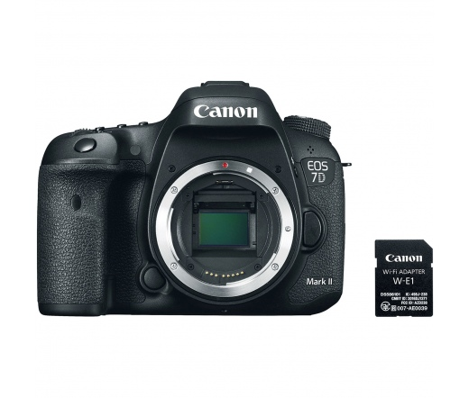 CANON EOS 7D Mark II + W-E1 kit