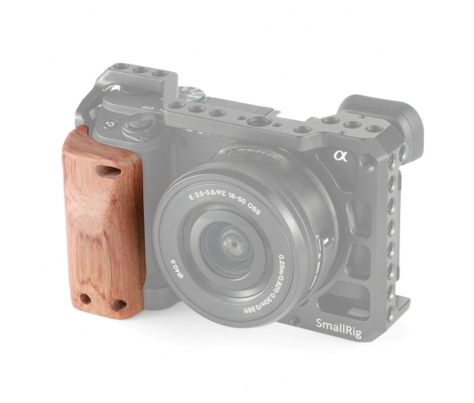 SMALLRIG Wooden Handgrip for Sony A6400 Cage APS23