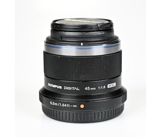 Használt Olympus 45mm f/1.8 objektív sn:ABSB43679