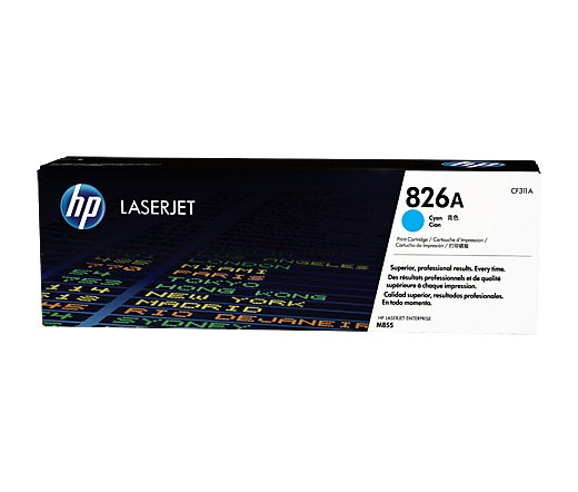 HP 826A ciánkék