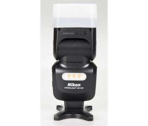 Használt Nikon SB-500 rendszervaku sn:2062764