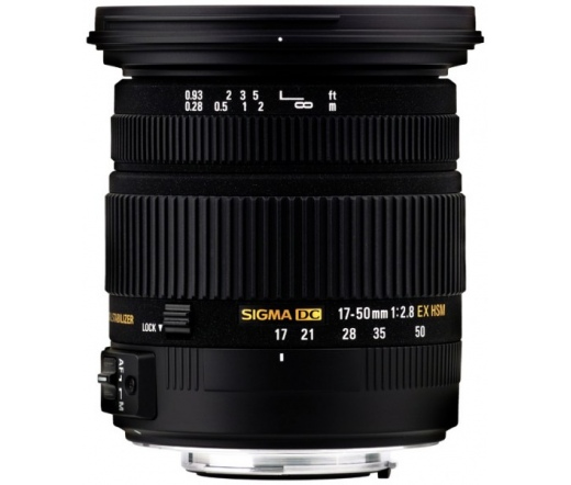 "Sigma 17-50mm F/2.8 EX DC OS HSM ""New"" (Sony)"