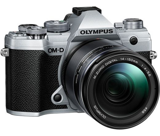 Olympus E-M5 Mark III 14-150mm II kit ezüst