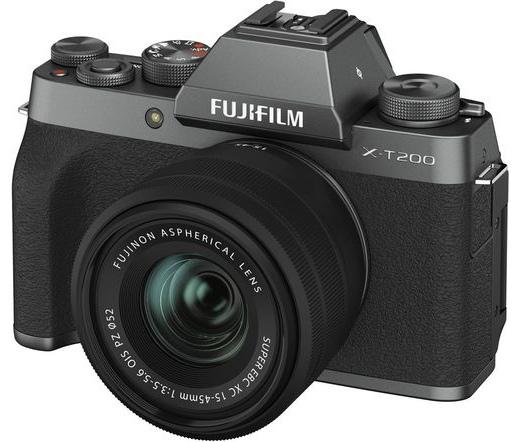 Fujifilm X-T200 XC15-45mm kit sötét ezüst